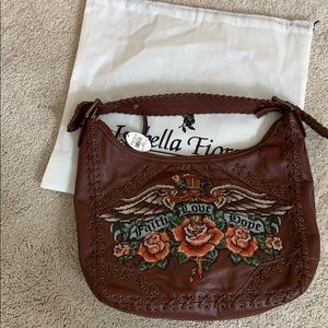 Large Isabella Fiore Rare Easy Rider hobo bag NWT